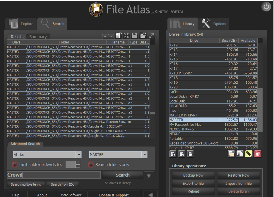 File Atlas