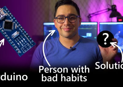 Device to make habits stick
