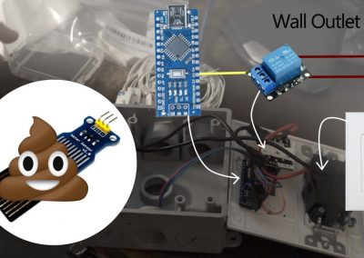 Using an Arduino to automatically sense the water level and turn on a pump