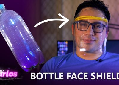 Face Shields made from easy-to-find materials
